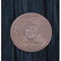 Ficha De Refrigerante Coca- Cola Sigla Ga.