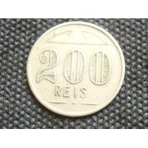 Raridade- Antiga Ficha Particular De Fazenda 200 Rs. Coleção