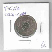 6941 Ficha - Coca-cola - Vale 1 Refrigerante - 23mm
