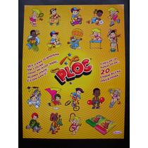Cartela Promocional Com Figurinhas Adesivas Dos Chicles Ploc