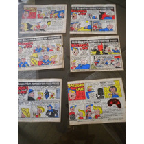 Lote Com 6 Figurinhas Antigas Bazooka Joe And His Gang