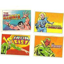 Figurinhas Do Album Super Heroes - Editora Dimensão 1978