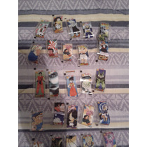 Lote 25 Figurinhas Dragon Ball Z (bong)