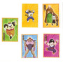 Figurinhas Dragonball Z Warriors (9) Sticker Album- Panini