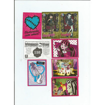 Figurinhas Avulsas Monster High 2012 - Comuns E Brilhantes