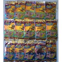 Lote 15 Pacotes Figurinhas Bob Esponja