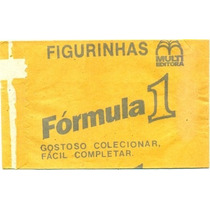 Envelope Vazio Do Album Fórmula 1 - Multi Editora -1988