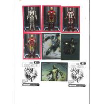 Figurinhas Avulsa Homem De Ferro - Hiron Man-3 - Compra 6.00