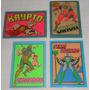 Álbum Super Powers Cromy Lote C/27 Figurinhas Nunca Usadas