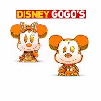 Gogos Disney Claro Par Mickey Ou Minnie Dourado