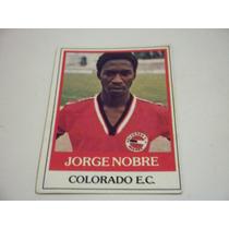 Jorge Nobre - Ping Pong Futebol Cards - Nº 388 - Colorado