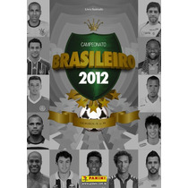 Campeonato Brasileiro 2012 - Album Capa Dura (vazio)