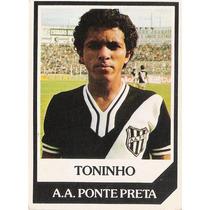 Futebol Cards Ping Pong - 152 - Toninho - Ponte Preta