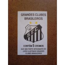 Cédula Santos Fc Grandes Clubes Brasileiros 1993