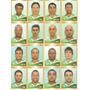 16 Figurinhas - Camp Brasileiro 2010 - Guarani
