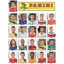 Copa 2014 Kit 71 Figurinhas Atualizadas Extras Recall Album