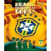 Album Brasil De Todas Copas+ 100 Figurinhas +frete Gratis