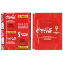 Copa 2014 - Envelope Promocional Coca Cola Mexico Vermelho