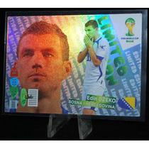 Cards - Adrenalyn Copa 2014 - Limited Edition - Edin Dzeko