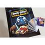 Envelope Lacrado Álbum Figurinhas Angry Birds Star Wars