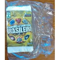 Envelope Lacrado Figurinha Abril 6 Campeões Campeonato Brasi