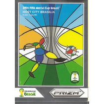 2014 Panini Prizm Host City Brasilia Card Copa Mundo