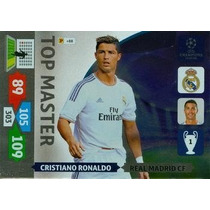 Cards Champions League 2013/14 Top Master Cristiano Ronaldo