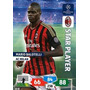 Cards Champions League 2013/14 Star Player Balotelli Milan
