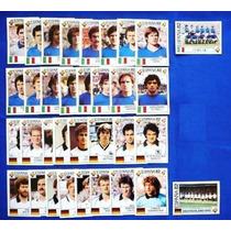 Copa 1982 - Figurinhas Italia Alemanha World Cup Story