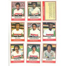 *sll* Ping Pong Futebol Cards - São Paulo - 18 Cards