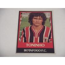 Toninho - Ping Pong Futebol Cards - Nº 306 - Botafogo