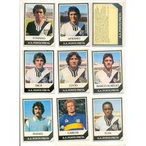 *sll* Ping Pong Futebol Cards - Ponte Preta - 16 Cards