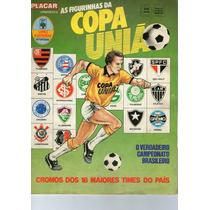 Figurinhas Album Brasileiro 87 Copa União 87 Raro Cb