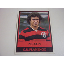 Nelson - Ping Pong Futebol Cards - Nº 109 - Flamengo