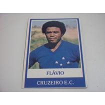 Flavio - Cruzeiro - Nº 447 - Ping Pong Futebol Cards