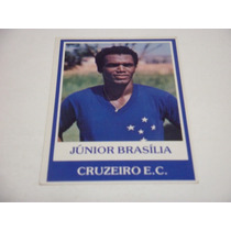 Junior Brasilia - Ping Pong Futebol Cards - Nº 438 Cruzeiro