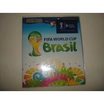 Álbum De Figurinhas Da Copa Brasil 2014 - 500 Figurinhas.