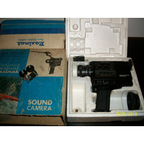 Filmadora Paximat 8mm Super Sound De 1970