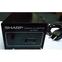 Sharp Câmera Ac Adaptor - Aa-126u -fonte De Alimentação K7
