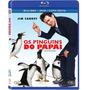 Blu-ray + Dvd Os Pinguins Do Papai - Dublado - Jim Carrey