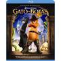 Blu-ray Gato De Botas - Nacional - Lacrado