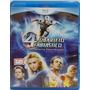 Quarteto Fantástico E O Surfista Prateado Filme Blu-ray