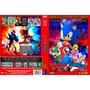 Coleção Exclusiva Do Mario & Sonic Desenhos 6 Dvds Dublados