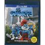 Blu - Ray 3d Os Smurfs - Novo***