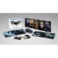 Caixa Batman The Dark Knight Trilogy Gift Set Blu Ray