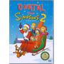 Dvd O Natal Dos Simpsons 2 - 4 Episódios Em Dvd - Novo***