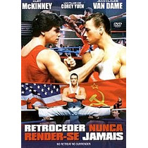 Retroceder Nunca Render-se Jamais Dvd Van Damme Dublado