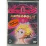 Dvd Metropolis Filme De Osamu Tezuka - Duplo - Raro
