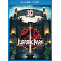 Blu Ray Jurassic Park 1 - 3d + 2d, Duplo, C/luva, Dub/leg