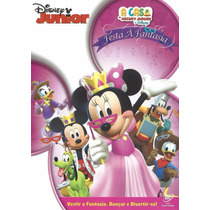 Dvd Festa À Fantasia Disney Júnior A Casa Do Mickey Mouse